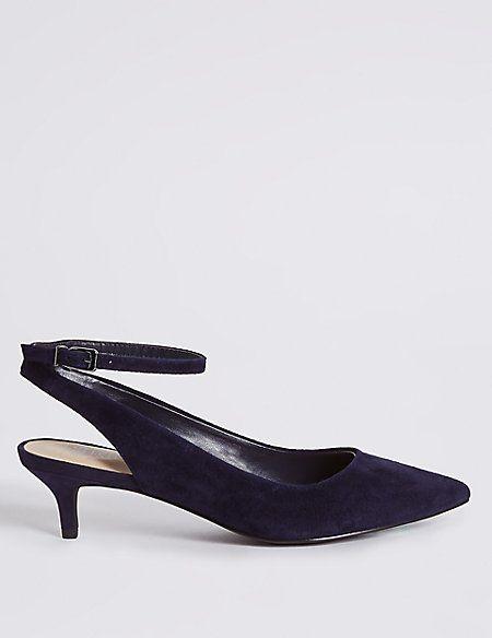 m and s black heels