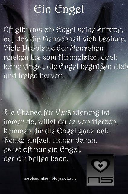 Ein Engel Gedicht Von Nicole Sunitsch Engel Gedichte