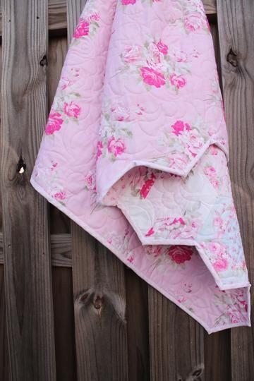 Heirloom Baby Girl Shabby Chic Quilt