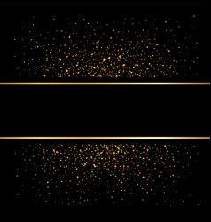 Gold Lines On Black Background Golden Glow Vector Gold And Black Background Black Sparkle Background Sparkles Background
