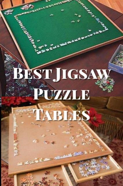 Best Jigsaw Puzzle Table And Accessories Woodworking Jigsaw