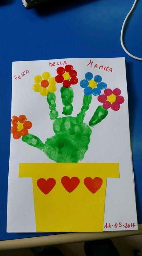 24 Ideas Birthday Card For Grandma From Toddler Kids Crafts Birthday Card Craft Kids Birthday Crafts Happy Birthday Crafts