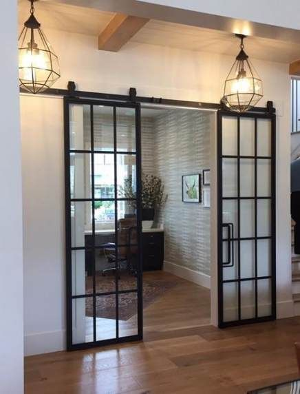 63 Ideas French Door Kitchen Frosted Glass Kitchen Door Kitchendesigndoor Kitchenmo Interior Sliding Barn Doors Glass Doors Interior Sliding Doors Interior
