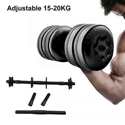 Ad Ebay Water Filled Dumbbell Hand Weight Bodybuilding Gym Exercise Arm Muscle Training In 2020 Adjustable Dumbbells No Equipment Workout Arm Muscles