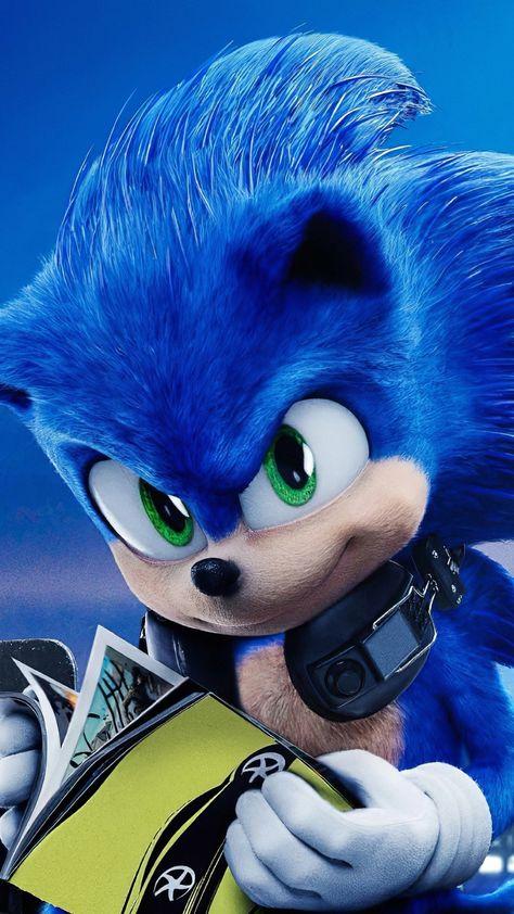 Sonic The Hedgehog, 2020 movie, 1080x1920 wallpaper