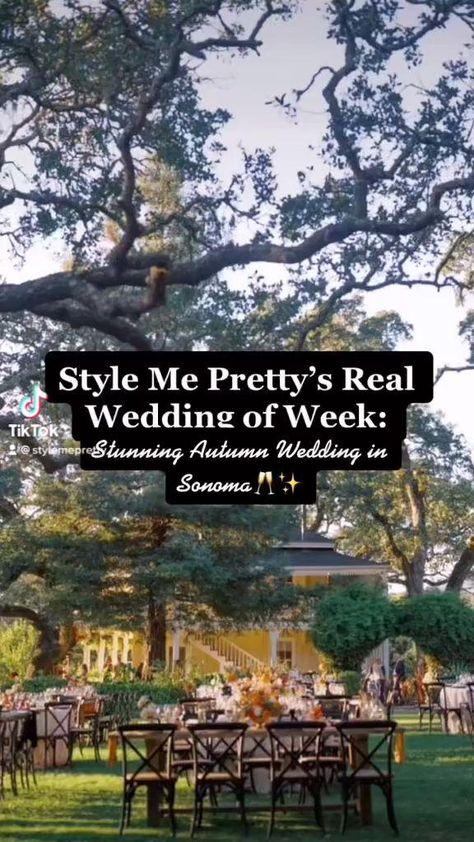 Head to StyleMePretty.com for more fall wedding inspiration! | Photo: @amandacrean #stylemepretty #fallwedding #fallbride #fallweddingideas