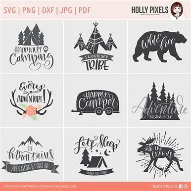 Image Result For Free Svg Files For Cricut Camping Quotes Cricut Cricut Creations Cricut Crafts