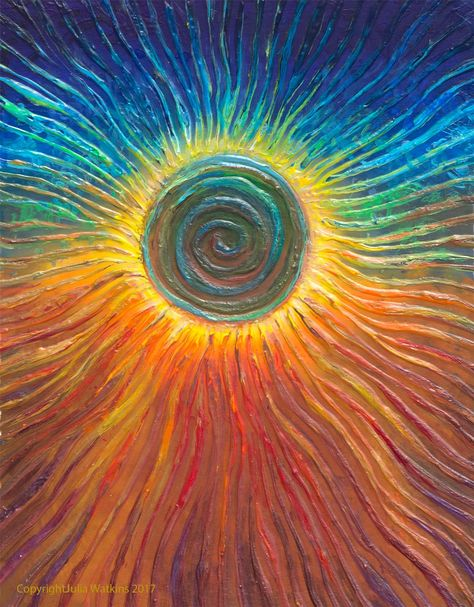 A time for new beginnings, new direction, new you. The eclipse depicted in this powerful energy channeled image by Julia Watkins, joins the energie...