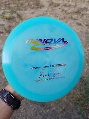 Advertisement Ebay Innova Twelve Time Champion Firebird Script 12x Patent Numbers 174g 9 10 Outdoor Sports Sporting Goods Innova Disc Golf Sports Kids Golf