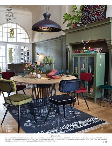 Maisons Du Monde Home Decor Dining Room Furniture Dining Room Bench Seating