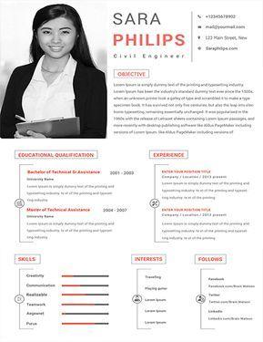 Free Civil Engineer Sample Resume With Images Civil Engineer