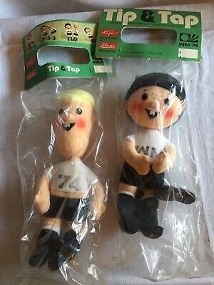 Details About Tip And Tap Mascot World Cup 1974 Figures Bnib
