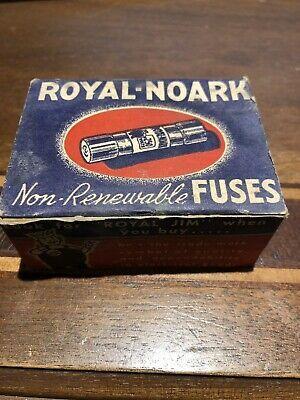 old 20 amp fuse box sponsored  ebay  new old stock box of royal noark non renewable 20  new old stock box of royal noark non
