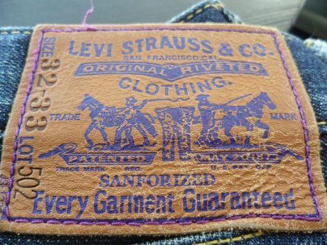 Levis Purple Label Atmos 502 32x33 LVC Denim Jeans RAW Selvedge RRL 501 511 514…