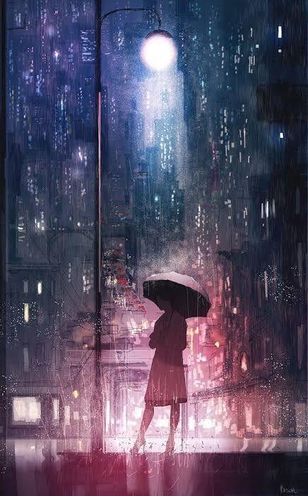 Anime Wallpaper Rain Wallpapers Anime Scenery Rain Art Blurred background anime wallpaper