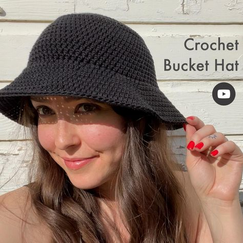 Crochet Bucket Hat