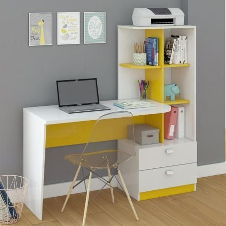 Compact Study Room Designs To Help Your Kids Study Fun Home Design Study Table Designs Study Room Design Computer Table Design