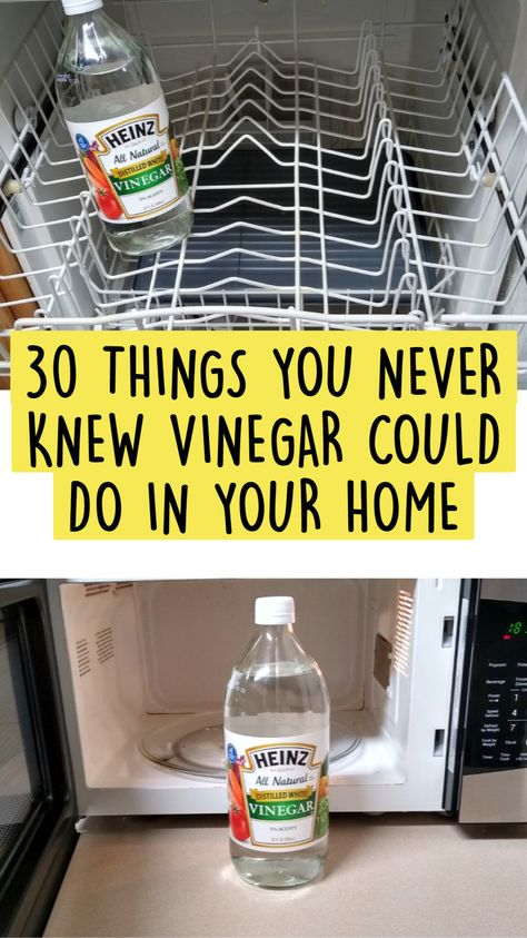 30 THINGS YOU NEVER KNEW VINEGAR COULD DO IN YOUR HOME