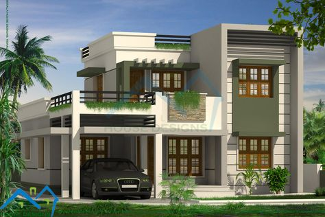 One Storey Modern House Design Modern Two Storey House In