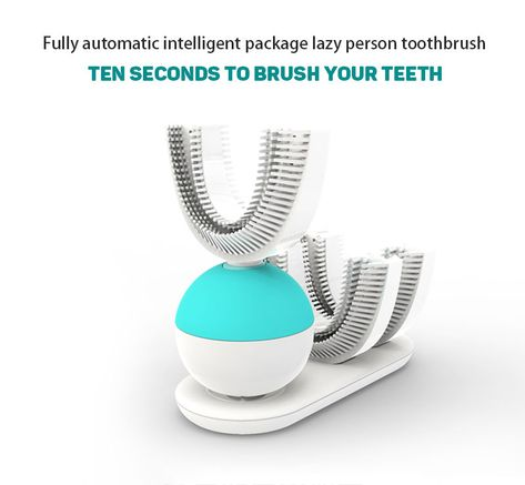 Amabrush Automatic Electric Sonic Toothbrush Quickly Brush In 10s