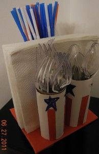 Patriotic Picnic and BBQ Decor