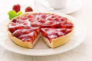Resep Cara Membuat Kue Strawberry Cream French Lembut