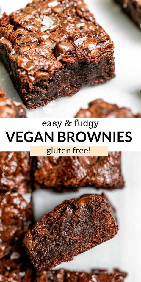 The Best Homemade Vegan Brownies | Eat With Clarity