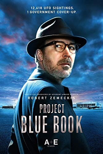 Aidan Gillen in Project Blue Book (2019) | Movies and