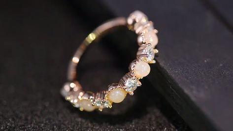 Rose Opal Ring