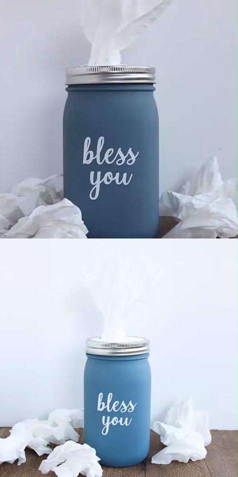 Mason Jar Issue Holder
