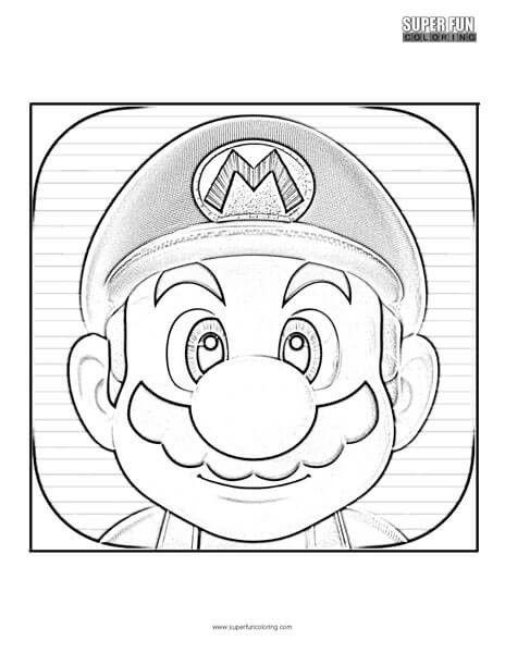 Super Mario Coloring Page Super Mario Run Coloring Page Super Fun Coloring Mario Coloring Pages Super Mario Coloring Pages Superhero Coloring Pages