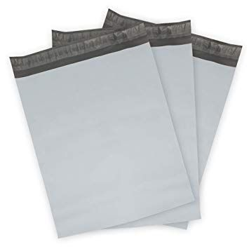 2.5 Mil 500 Pack 9 x 12 inch 9x12 Poly Mailers Shipping Envelope Mailer Bags White Peel /& Seal