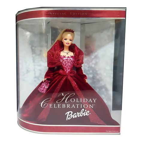 Barbie Sisters The Perfect Christmas Doll Ribbon Tulle Holiday Dress Gala Gown