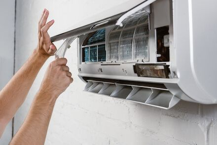 Clean The Ac Filter Process