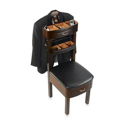 Mens Chair Valet Stand With Drawers And Compartments Mens Valet Mens Valet Stand Valet Stand