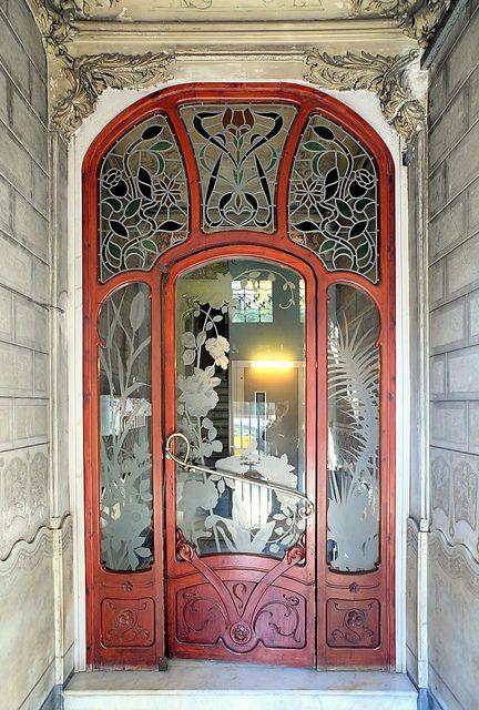 Barcelona doorway-  by Arnim Schulz