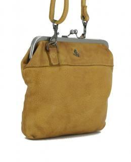 Rosalie Mustard Gelb Schultertasche Harbour2nd Leder Bags More Leder Schultertasche Taschen