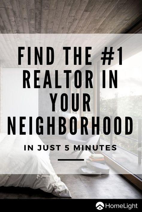 HomeLight is a revolutionary technology startup that helps connect you with the best realtors in your neighborhood using historical performance data. Only use the best to help you in buying or selling your home.