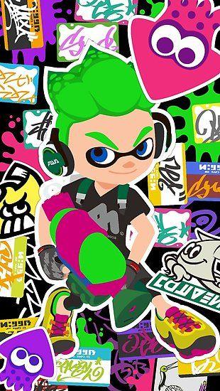 Splatoon 2 Inkling Boy Poster By Assassinhedgie Splatoon Boys Posters Nintendo Splatoon