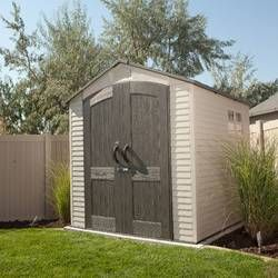 Sidemate 4 Ft W X 8 Ft D Plastic Lean To Storage Shed Plastic Sheds Outdoor Storage Sheds Plastic Storage Sheds