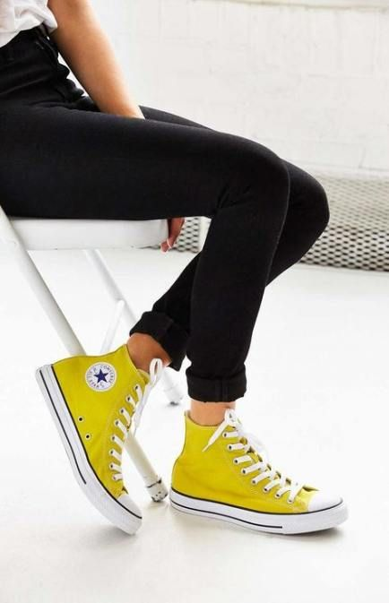 36 Super Ideas sneakers yellow outfit