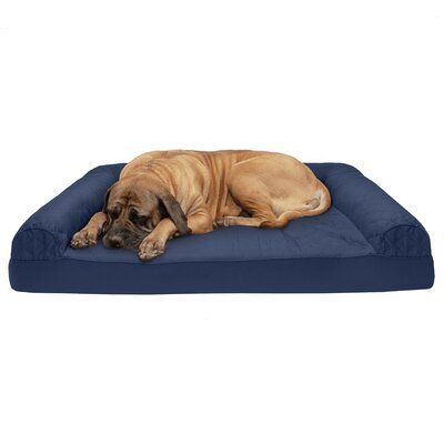 Tucker Murphy Pet Nell Quilted Cooling Gel Dog Sofa Size Jumbo