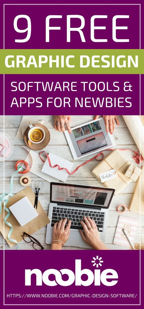 Free Graphic Design Software Tools & Apps For Newbies #design #graphicdesign #art