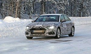2020 Audi A4 Sedan Spied With A6 Inspired Design The Rumors About A Second Facelift For The A4 Turned Out To Be Cars Autos Automotive Audi A4 Sedan Audi