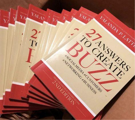 Virtual Book Signing   27 Answers to Create Buzz by DryerBuzz   Yalanda Lattimore
