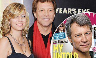 Jon Bon Jovi, 54, addresses daughter Stephanie being hospitalized