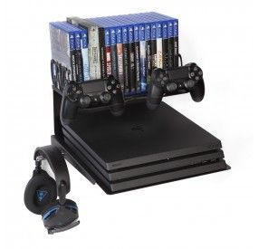 Horizontal Wall Mount Ps4 And Xbox Bundle Big Daddy Borangame In 2020 Video Game Rooms Game Storage Big Daddy