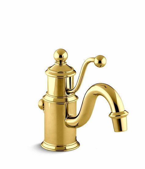 Kohler Antique Lever Single Hole Bathroom Sink Faucet K 139 Pb