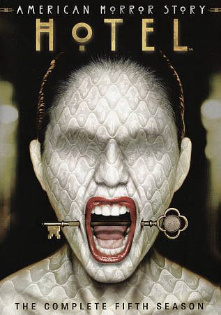 American Horror Story Hotel The Complete Fifth Season 5 Dvd 2016 4 Disc S American Horror Story Seasons American Horror Story 5 American Horror Story Hotel