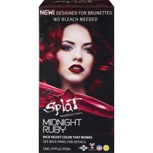 Splat Midnight Hair Color Ruby Cvs Red Hair Dye Walmart Dyed